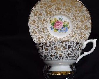 England bone china teacup and saucer