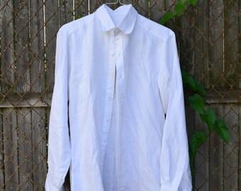 Handmade linen shirt