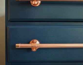 Medium Copper Pulls - 8 inches  to 16 inches