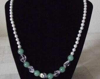Aventurine in Pearls