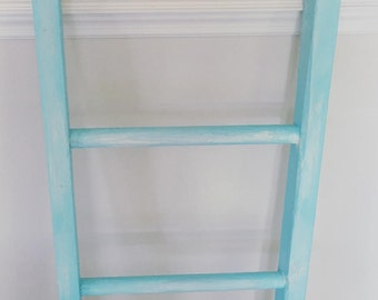Distressed Decorative Ladder