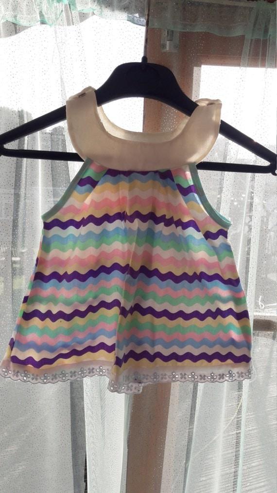 Baby pinefore dress