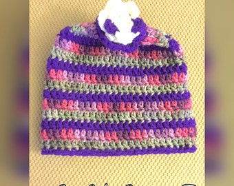 Crocheted Toddler Hat