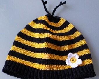 """Baby hat """"Bee"""""""