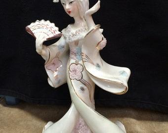 Porcelain/ceramic Geisha figurine