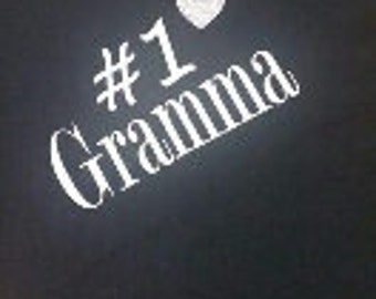 Number 1 Gramma shirt