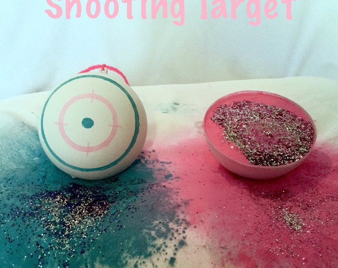 2 Shooting Target Gender Reveal Balls Pack (Custom Color Combinations)