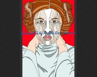 Leia Lines- Print