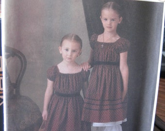 Pattern SIMPLICITY 4739 HISTORIC costumes Civil War Growth Dress