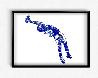Unique Giants Football Related Items Etsy