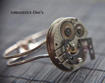 Steampunk Bracelet - Vintage Clockwork Design - Fast ship Steampunk Jewelry