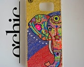 iPhone 7 plus elephant phone case iphone 7 case handmade iphone cases yellow samsung galaxy cases phone cover luxury phone cases
