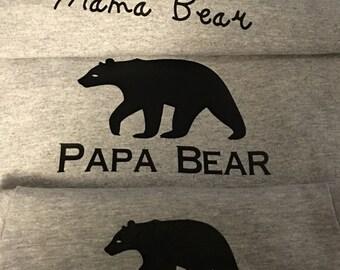 Bear family tees