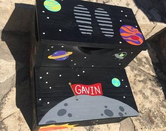 Hand Painted Children's Step Stool