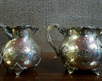 Toronto silver plate company silver plated creamer pitcher