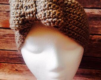 Olivia Bow Headband Ear Warmer, women's headband, ear warmer