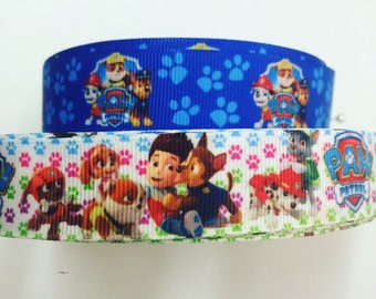 7/8 22mm Paw Patrol Grosgrain