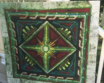 Mandala tribal batik