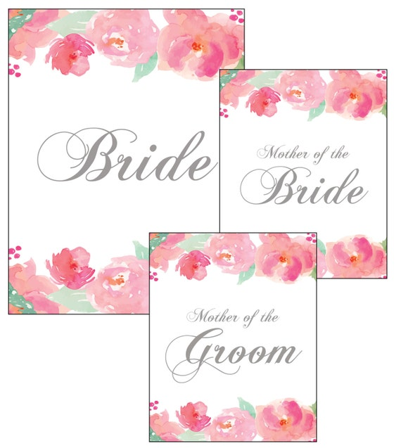 Wedding Binder Covers: Set Of Bride Mother Of The Bride And