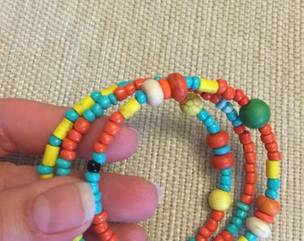Colorful bracelet caribe