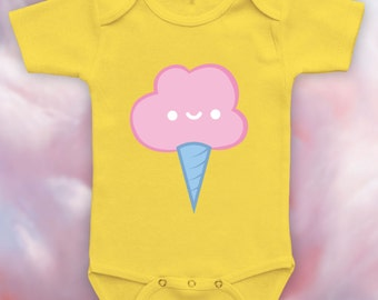CottonCandy bodysuit, tshirt for baby, new baby,baby's 1st christmas,baby shower gift,baby's first birthday,baby bear onesie-CCB-106