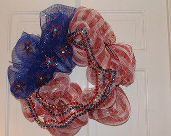 Stars and Stripes Forever Wreath