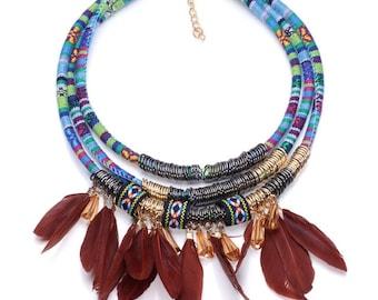 Tribal dreams necklace
