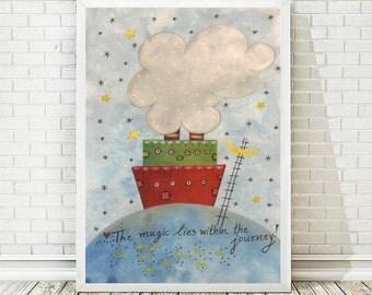 Nursery Printable, Kids Art Prints, Printable Art, Kids Decor, Nursery Decor, Kids Room Art, Printable Poster,  INSTANT DOWNLOAD