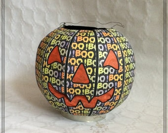 Spooky Halloween - Pumpkin, Jack o' Lanterne, illuminated, party decoration, unique