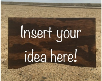 Insert your idea here!
