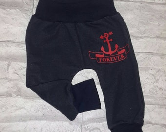 "Trousers ""Anchor red"""