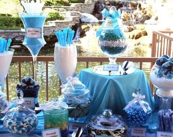 Candy Buffet for Weddings, Showers, Birthdays, Parties