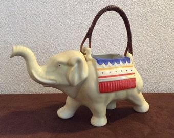 Mosa Maastricht olifant theepot koffiepot Art Deco