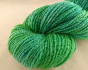 Yarn - One Of A Kind #5 -100% Wool - Hand Dyed - Knit - Crochet - Worsted Weight