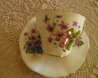 Vintage Teacup and Saucer