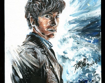 Doctor Who 10th Doctor David Tennant acrylic portait