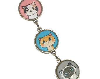 Cat bracelet - Kawaii cats