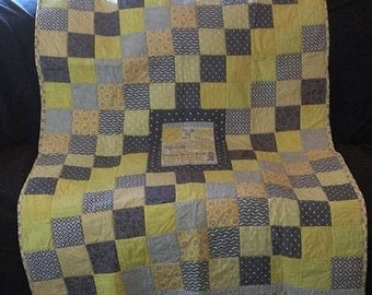 Custom  to Order Lap Quilts Approx 45X60
