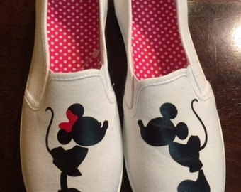 Mickey and Minnie Disney Shoes