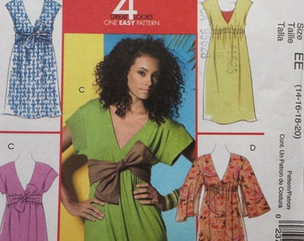 McCalls 5423 Dress Sewing Pattern 14-20