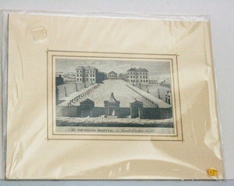 The Foundling Hospital - Mounted print