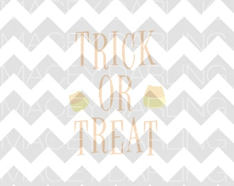 Trick Or Treat SVG, Candy Corn SVG, Halloween SVG, Happy Halloween Svg, First Halloween Svg, Trick or Treat Dxf, Halloween Dxf, Cut File