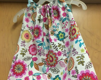 Toddler Girl Custom Butterfly Pillowcase Dress 2T, 3T, 4T, 5T 5/6