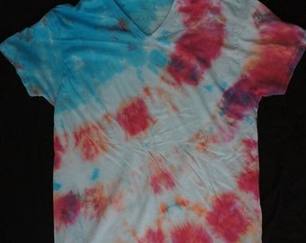 Red, White, and Blue Tie Dye T-Shirts - 4th of July