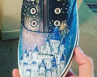 Cinderella castle shoes