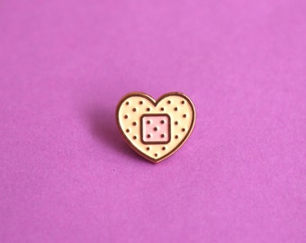 Hurting Heart Bandage Soft Enamel Pin