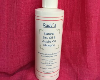 Rudy's  Natural Emu Oil and Jojoba Oil Shampoo
