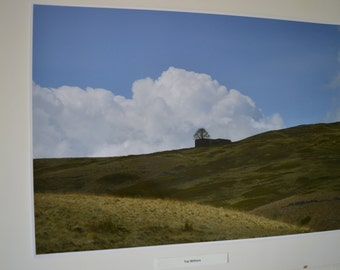 Wuthering Heights, Limited Edition Print Photograph. Top Withens, Yorkshire. Jane Eyre, Bronte