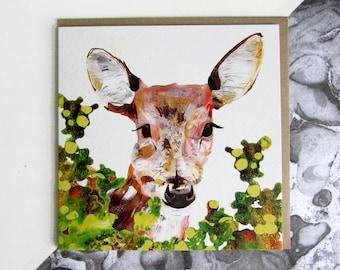Little Deer Card