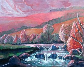 Sunset on Salmon Creek